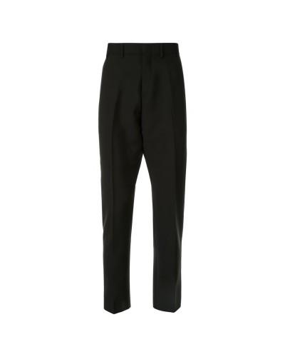 Czarne eleganckie spodnie męskie