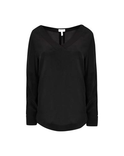 Czarna bluzka damska