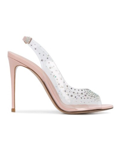 Transparentne sandały