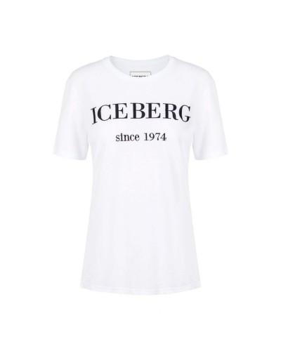 Biały t-shirt damski
