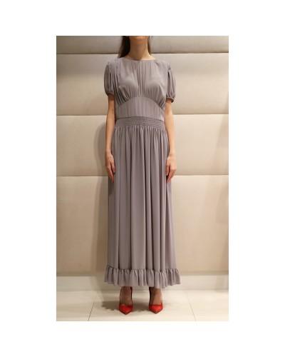 Szara sukienka