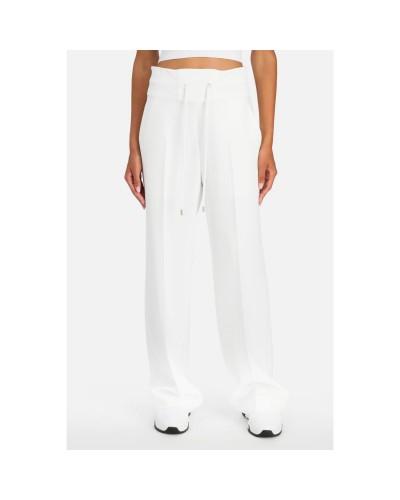 Kremowe spodnie dresowe