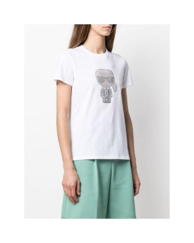 Biały t-shirt Ikonik