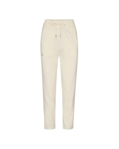 Kremowe dresowe spodnie