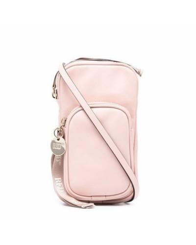Różowa torebka do telefonu