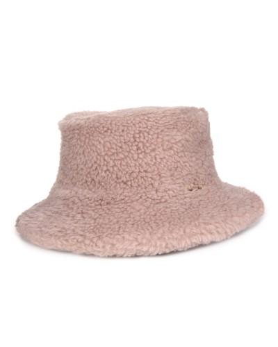 Brązowy wełniany kapelusz