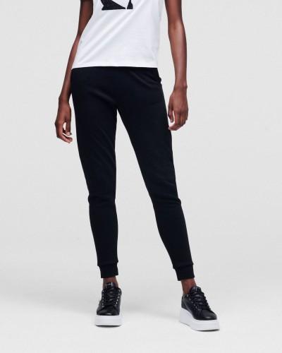 Czarne spodnie dresowe