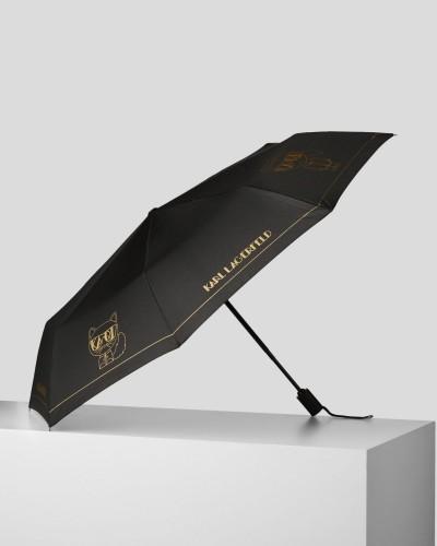 Czarny parasol
