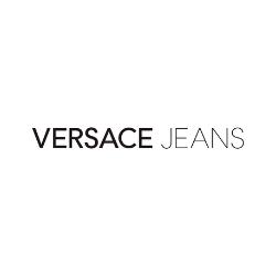 Czarno złoty płaszcz damski na lato Versace Jeans
