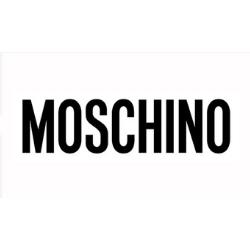0816b6f4d985d Czarne skórzane sandały damskie - Moschino - Projektanci ...